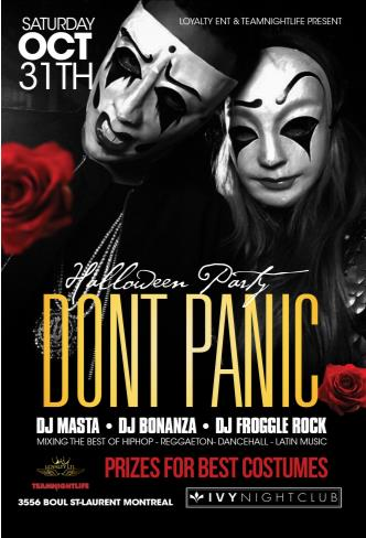 Dont Panic - Halloween Party
