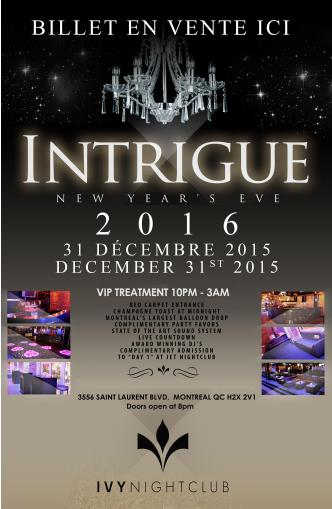 Intrigue New Year's Eve