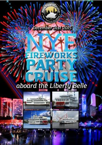 New Year's Eve Fireworks Party Cruise- The Liberty Belle