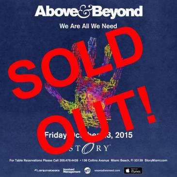 Above & Beyond STORY: Main Image