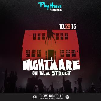 Nightmare on Elm St Halloween Bash