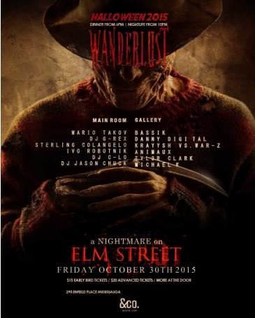 WANDERLUST - A NIGHTMARE ON ELM STREET