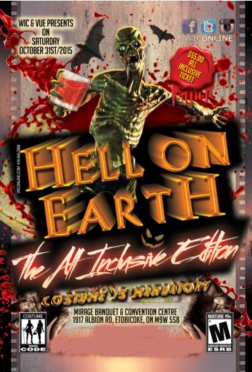HELL ON EARTH - the All-Inclusive Costume Party