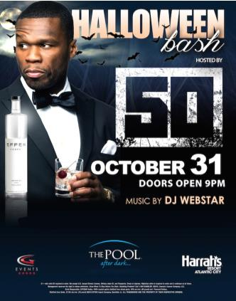 Halloween Hosted by 50 Cent