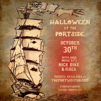 Good Music Halloween Friday @ The Portside
