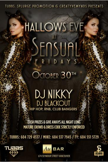 Hallows Eve @ Sensual Fridays