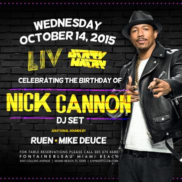 Nick Cannon (DJ Set) LIV-img