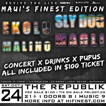 Revive The Live Maui's Finest-img