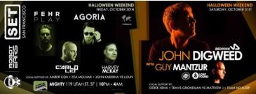 Halloween Night Feat. John Digweed & Guy Mantzur