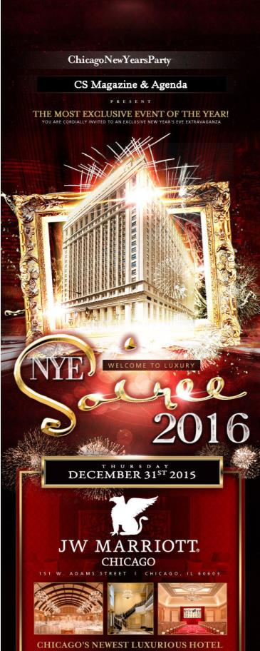 NYE 2016 - JW Marriott Chicago
