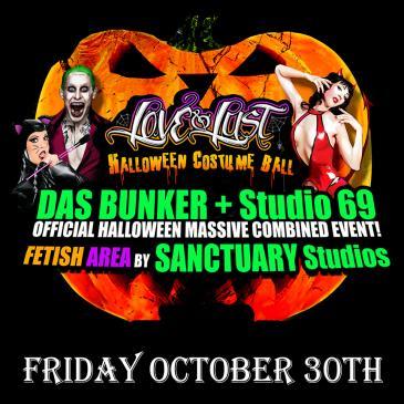 Love & Lust Halloween Costume Ball (Till 4Am / 18+)