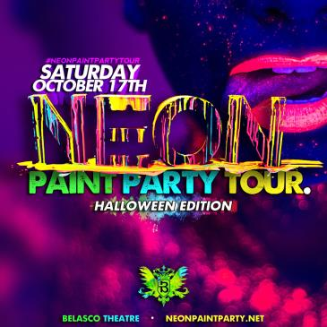 The Neon Paint Party Tour: Halloween Paint Bath 18+-img