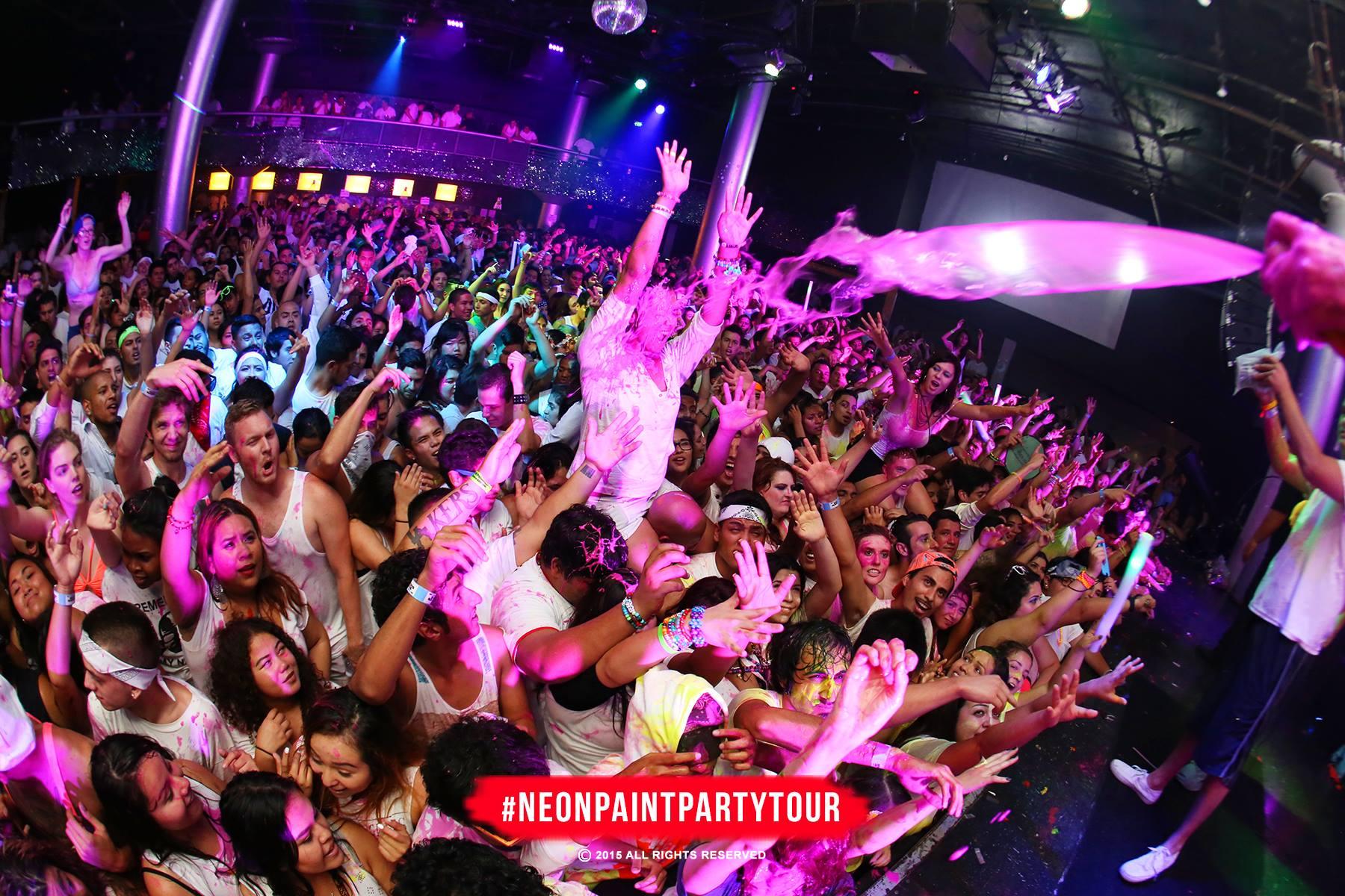 The Neon Paint Party Tour: Halloween Paint Bath 18+ Tickets 10/17/15