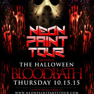 The Neon Paint Party Tour Presents: The Halloween Blood Bath-img