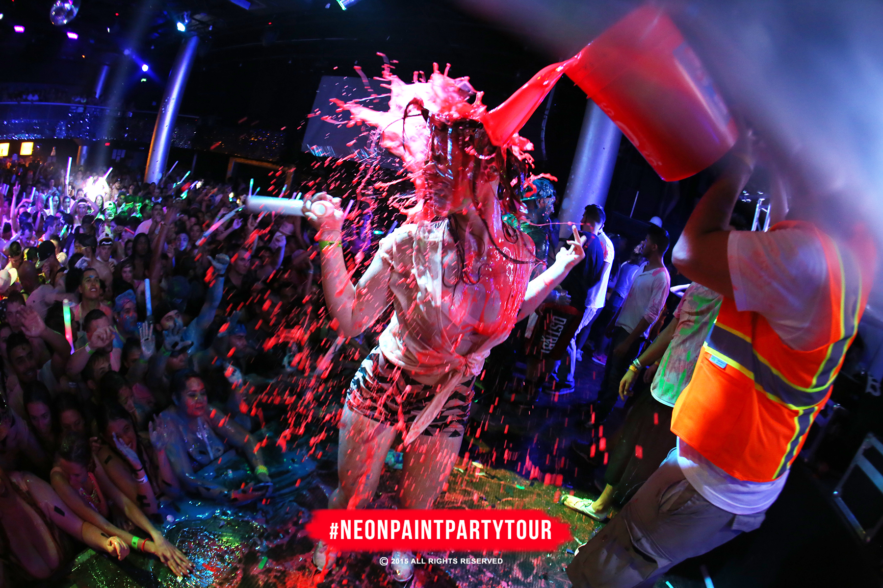 The Neon Paint Party Tour Blood Bath Tickets 10/15/15