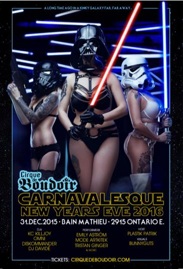 CARNAVALESQUE 2016 - Star Wars Edition