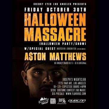 A$ton Matthews + Spcl Guest | Halloween Show / Party 18+-img