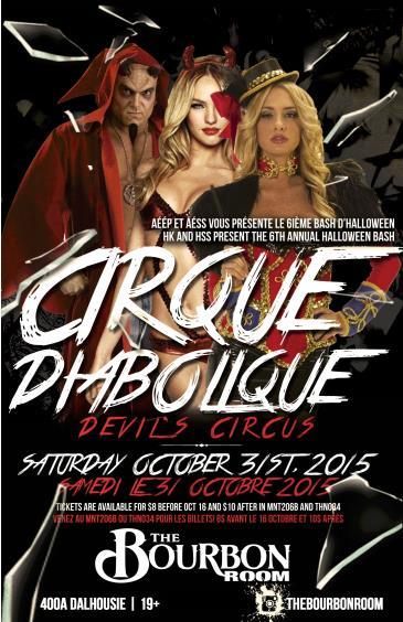 Cirque Diabolique  Halloween Celebration