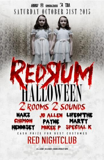 REDRUM Halloween
