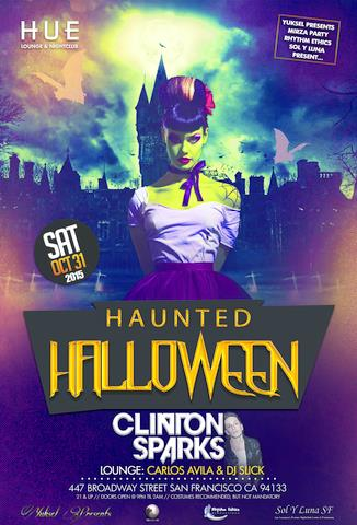 Halloween Night Clinton Sparks Live!