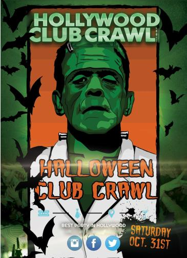 Halloween Club Crawl to 3 clubs - Boulevard 3