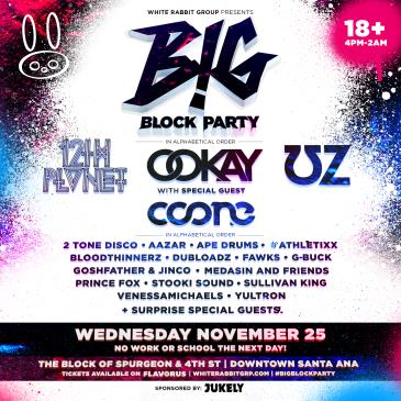 White Rabbit Presents BIG Block Party ft. UZ  • 12th Planet-img