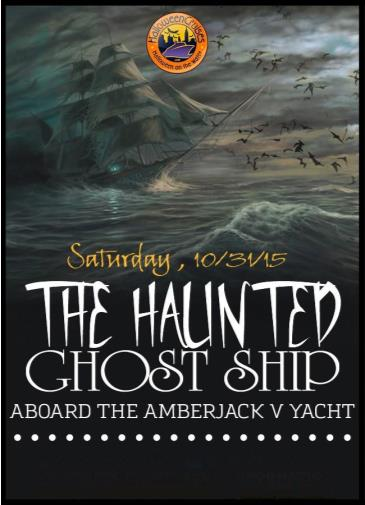 The Haunted Ghost Ship Aboard the Amberjack V Yacht