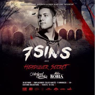 *SOLD OUT* BUD LIGHT presents THE 7 SINS: HALLOWEEN PARTY