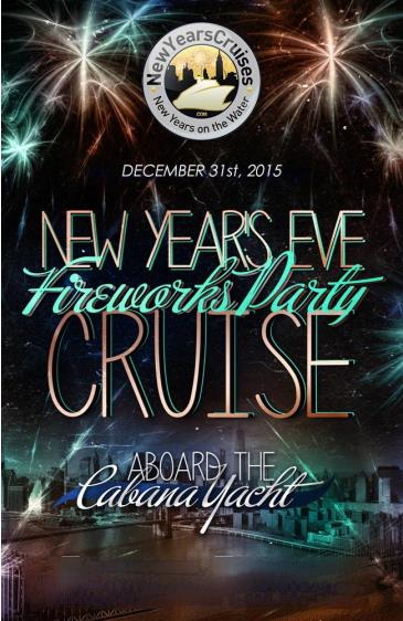 New Year's Eve Fireworks Party Cruise