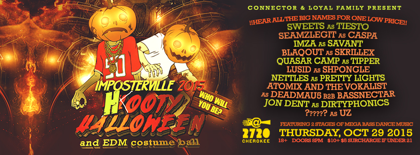 Imposterville: Hooty Halloween 2015 F/ Epic Lineup: Main Image