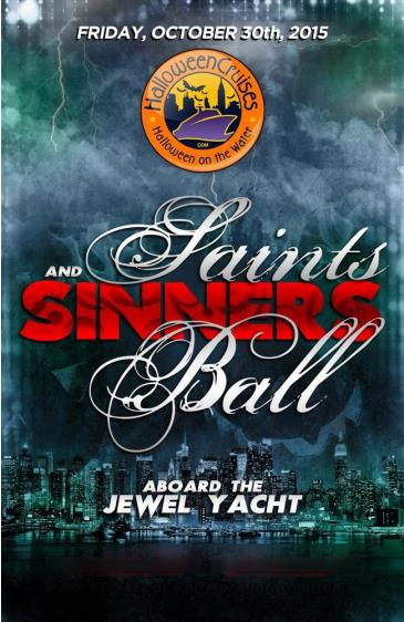 Saints & Sinners Ball Aboard the Jewel Yacht