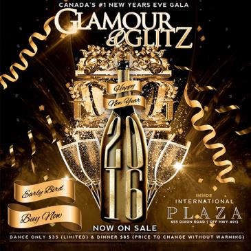 GLAMOUR and GLITZ NYE 2016