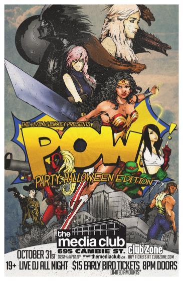 POW! Party: Halloween Edition