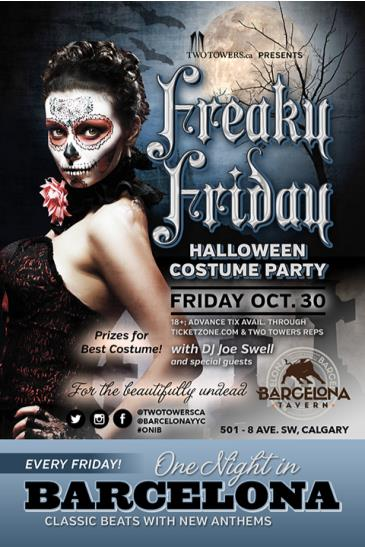 Freaky Friday Halloween Costume Party