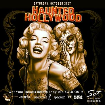 The HAUNTED HOLLYWOOD Halloween Ball ~ Oct 31 | #SETonKing