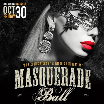 3RD ANNUAL HALLOWEEN MASQUERADE BALL