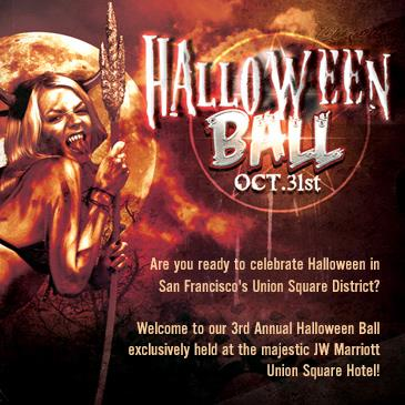 Halloween Ball in Union Square