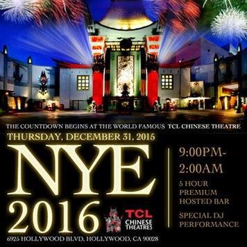 NYE at Chinese Theatre