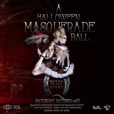 Queen of the Night: A Halloween Masquerade Ball