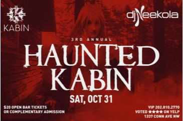 Haunted Kabin Halloween Costume Party