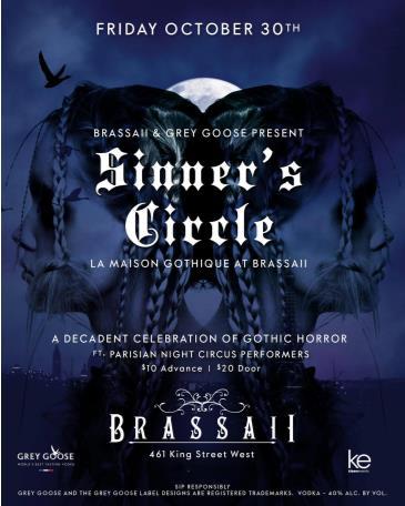 SINNERS CIRCLE at BRASSAII