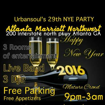 Urban Soul's 29th New Years Eve Party