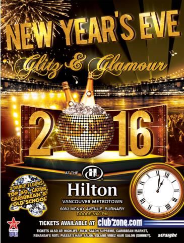 New Year's Eve Glitz and Glamour - DANCE ONLY