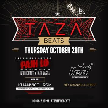 Taza Beats 'Halloween Edition' @ LED Bar