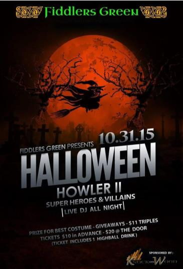 Halloween Howler II : Super Heroes vs. Villains
