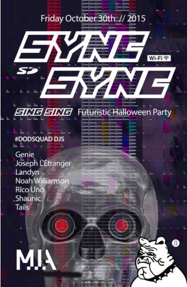 SYNC SYNC Futuristic Halloween :: M.I.A