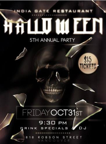 Hells Gate Halloween Party