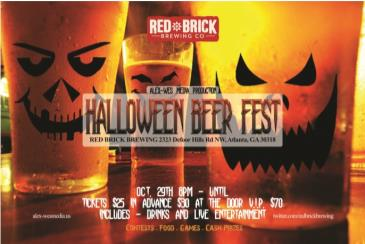 Halloween Beer Fest Red Brick