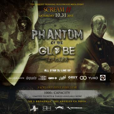 SCREAM 11 - Phantom of Globe Theatre