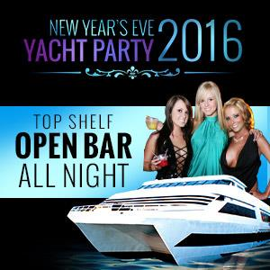 NYE Yacht Party on the Hornblower Inspiration